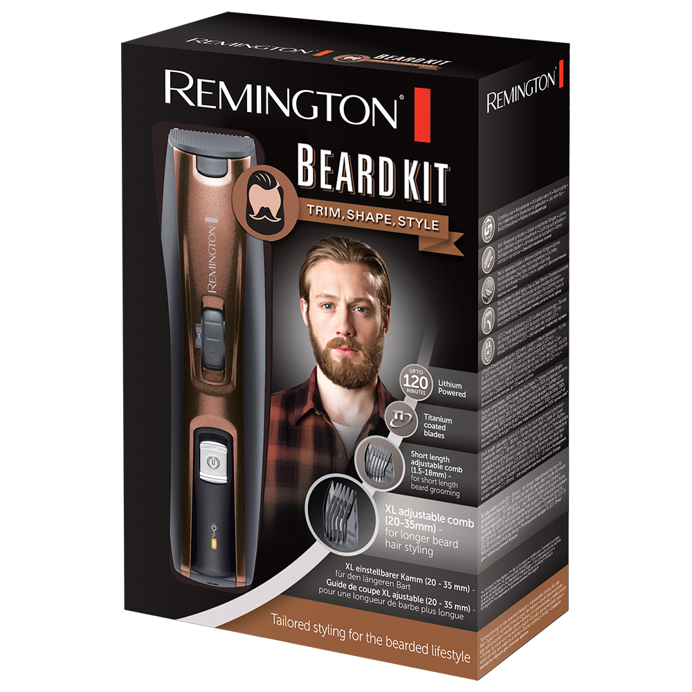 beard kit and trimmer mb4045 remington uk. Black Bedroom Furniture Sets. Home Design Ideas